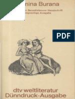 Carmina Burana. Die Lieder Der Benediktbeurer Handschrift. Zweisprachige Ausgabe Lateinisch-Deutsch by B. Bischoff (Z-lib.org)