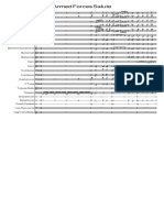 Armed Forces Salute - Score and Parts