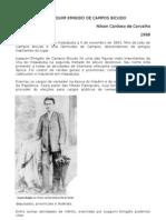JOAQUIM EMIGDIO DE CAMPOS BICUDO   texto de Nilson Cardoso de Carvalho, 1998.