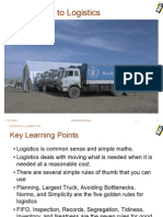 Introduction to Logistics v101