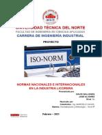 Normas Nacionales e Internacionales_ Idustria Licorera _gallegosdavid_josé_álvarez