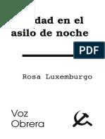 Rosa Luxemburgo Navidad en el asilo
