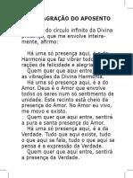 Hinario CURANDEIRO novembro 2015 Santo Daime