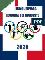 PRIMERA OLIMPIADA REGIONAL DEL NORDESTE
