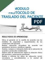 PRESENTACION DEL MODULO PROTOCOLO DE TRASLADO DEL PACIENTE (1)