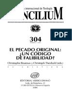 Maldame - El pecado original ante el pensamiento moderno Concilium 304