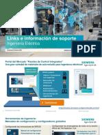 Siemens links e información de soporte-B405-4689