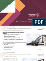 1.2.5. Obras de Arte Metálicas - Materiais Constitutivos – sistemas de proteção contra corrosão