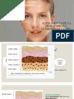 Alteraciones de La Hidratación y Nutrición de La Piel Clase 1 Cosmeto