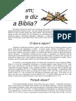 Jejum - O Que Diz a Bíblia Int