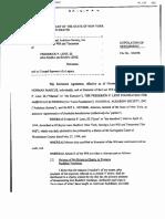 Stipulation and Order of Settlement (Audubon Society)