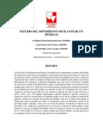 INFORME PRACTICA 2 - OSCILACIONES DE UN PENDULO