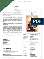 Chiang Kai-shek – Wikipédia, a enciclopédia livre
