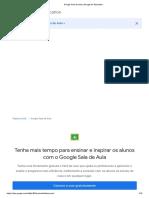 Google Sala de Aula _ Google for Education