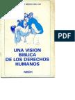 UNA VISION BIBLICA DE LOS DERECHOS HUMANOS