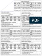 Horario y Lista 2° - 2020
