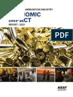 2021 Firearm Ammunition Industry Economic Impact