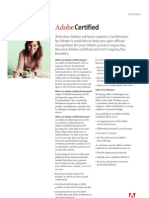 Adobe Certified Datasheet
