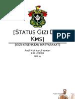 Status Gizi Dalam Hubungannya dengan KMS