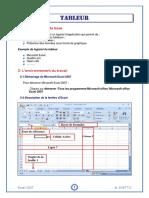Tableur Excel