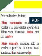 RIMAS-ASONANTE