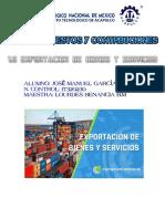 1.6 EXPORTACION DE BIENES Y SERVICIOS