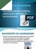 Biografia de Hahnemann