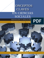 Ramírez Plascencia, Jorge (Ed)_ Conceptos Claves en Ciencias Sociales Definición y Aplicaciones