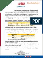 Comunicado - Plataforma Educativa Inicial-primaria -Jp
