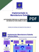 EL PROCESO DE IMPLEMENTAR MANUFACTURA ESBELTA