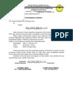surat izin kegiatan PESMINA