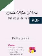 Catalogo LANAMIA