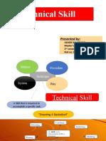 technical skill presentation