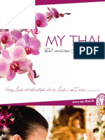 My Thai Speisekarte
