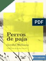Perros de paja - Gordon Williams