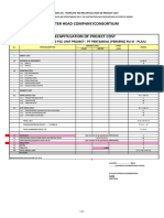 Appendix Iin - Template for Recapitulation of Project Cost