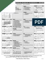 2011-2012 Minneapolis School Calendar