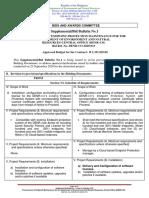 Bid Bulletin No. 1 Bid Ref. No.2020-013 EndPoint Protection Maintenance