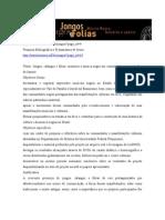 Jongos, calangos e folias - projeto UFF 2005