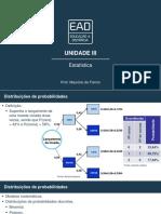 Slides de Aula – Unidade III estatistica unip