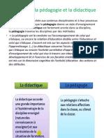 Le Lien Entre La Pédagogie Et La Didactique Expo