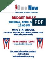 April Rally Flyer