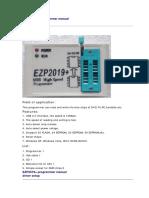 EZP2019+ user manual