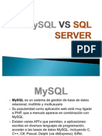MySQL VS SQL SERVER diapositivas