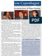 Migration, Mediterranean Focus of  the OSCE PA's tenth Winter Meeting