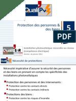 QualiPV 5 Protection Des Personnes Et Des Biens
