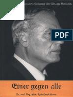 Hamer, Ryke - Einer Gegen Alle - Die Erkenntnisunterdrueckung Der Neuen Medizin (2005, 440 S., Scan-Text)