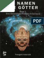 Ickeroth, Traugott - Im Namen Der Götter - Band 1 (2006)