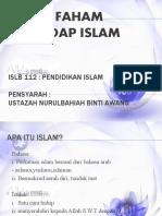 salah faham terhadap islam