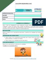 Evaluación Diágnostica 2021 Personal Social